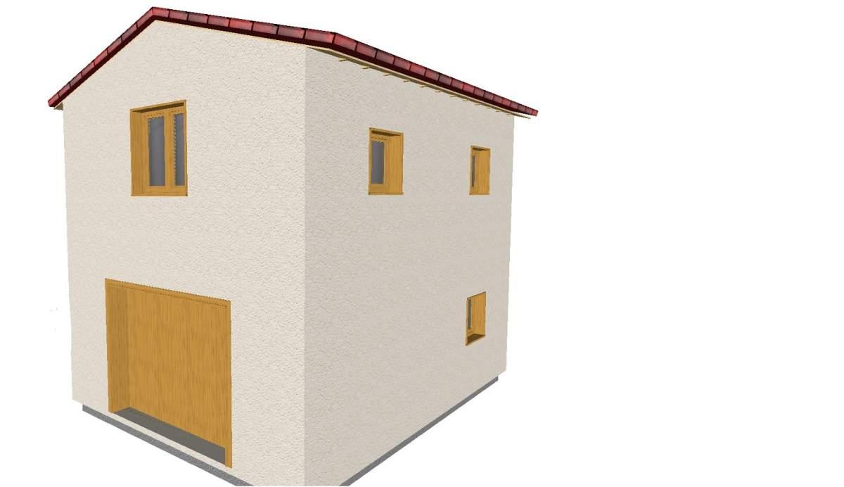 Agrandissement de maison en ossature bois saint saturnin for Agrandissement maison 77
