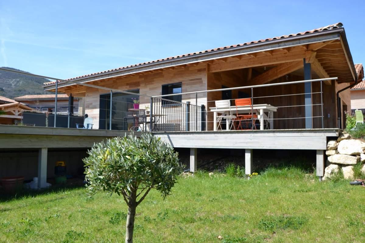 Artisan constructeur de maison ossature bois opp de en for Constructeur de maison 71