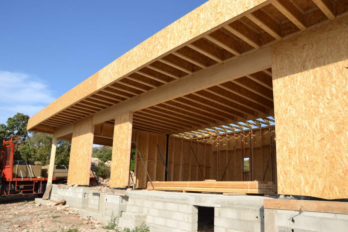Combien co te la construction d 39 une maison ou extension for Construction bois maison