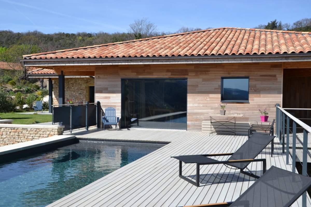 Artisan constructeur de maison ossature bois opp de en - Constructeur maison salon de provence ...
