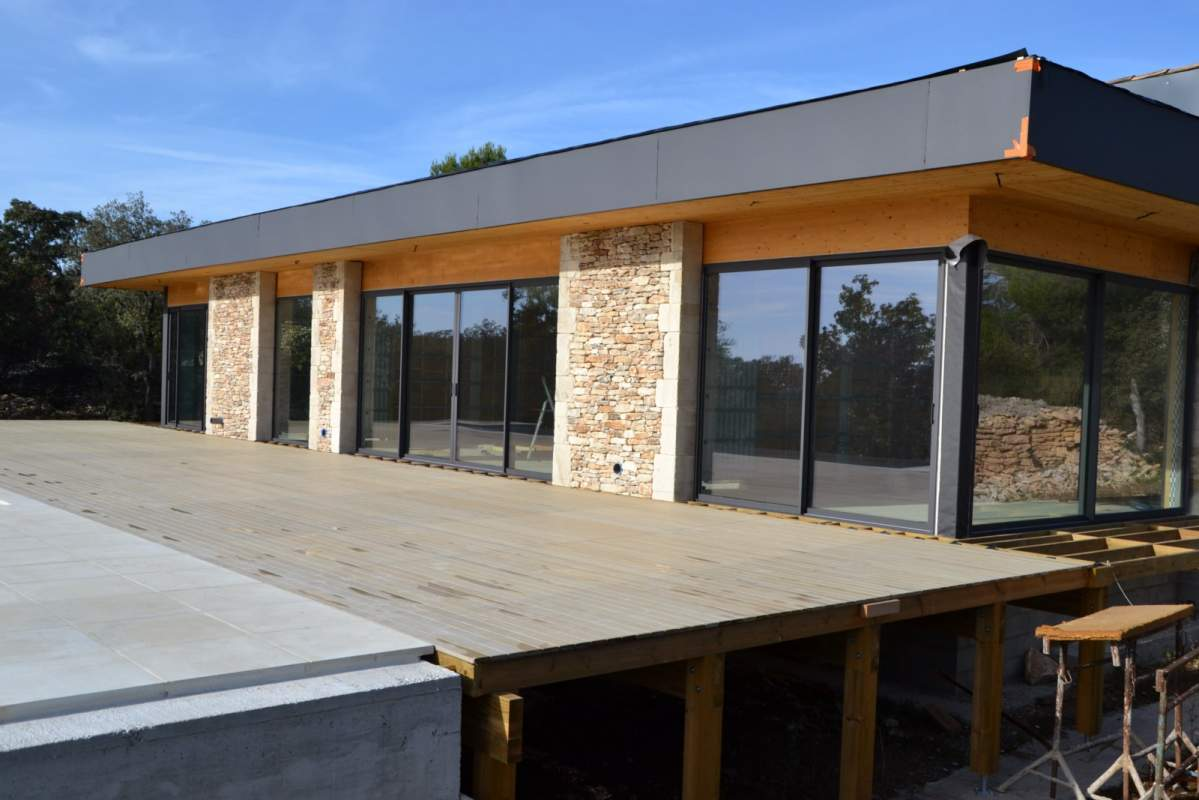 Artisan constructeur de maison ossature bois passive a aix en provence 13100