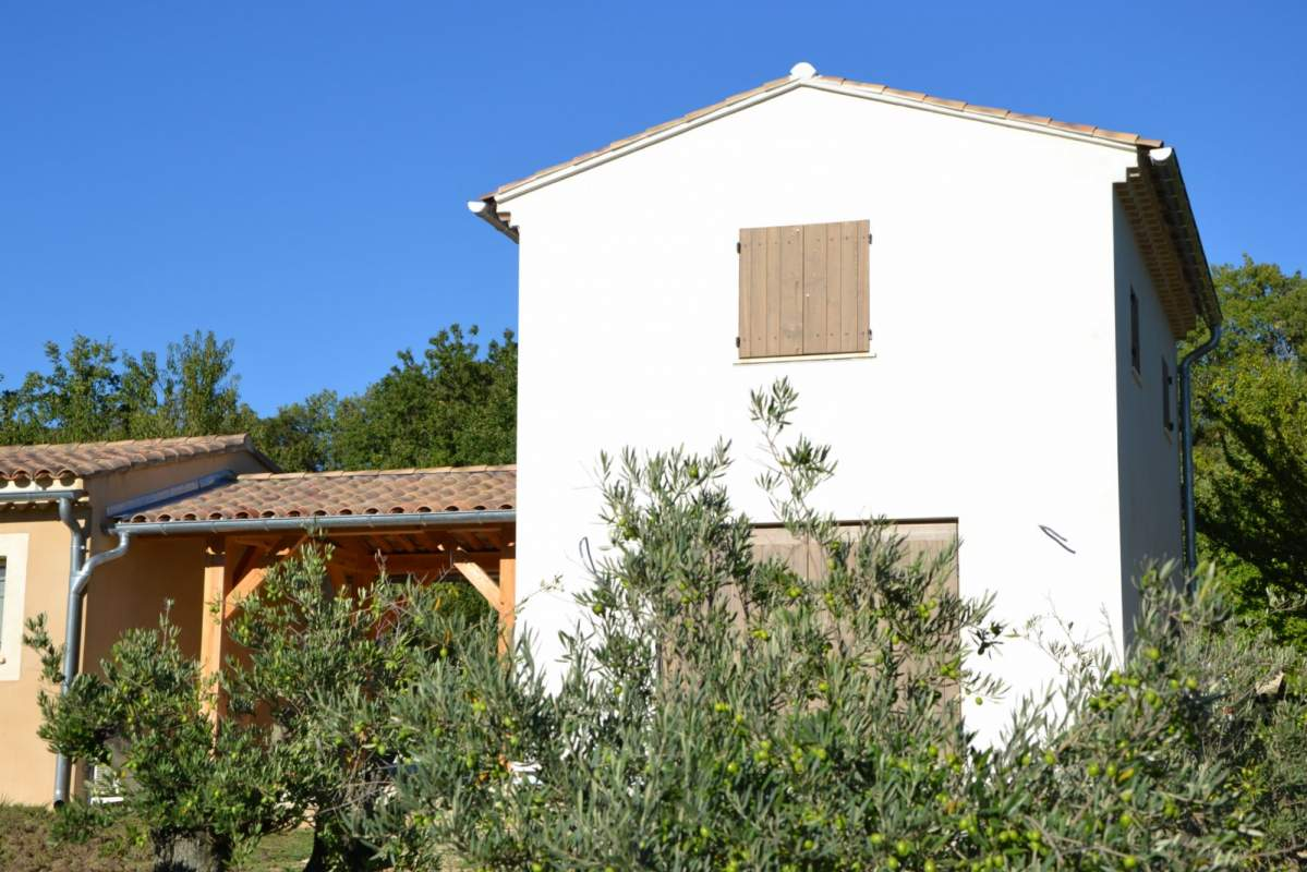 Agrandissement de maison en ossature bois saint saturnin for Agrandissement maison 90