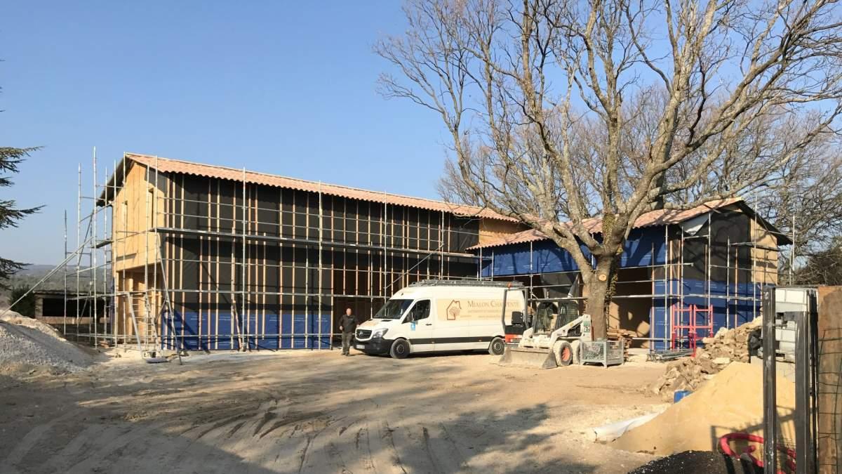 construire charpente bois