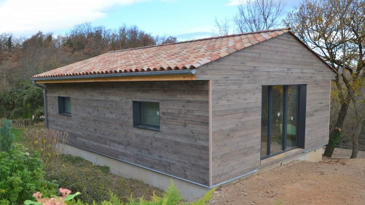 Artisan constructeur de maison ossature bois apt en for Constructeur de maison individuelle vaucluse