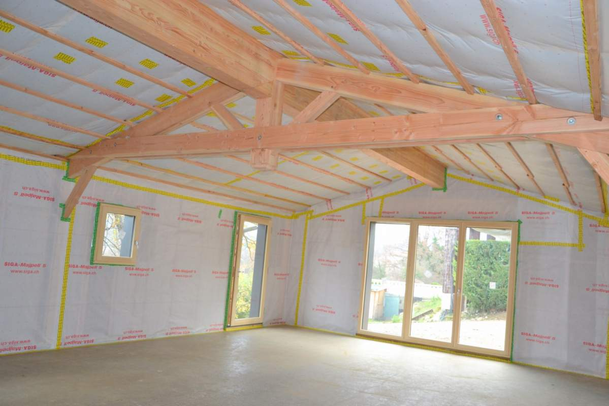 Artisan constructeur de maison ossature bois apt en for Constructeur maison ossature bois quebec