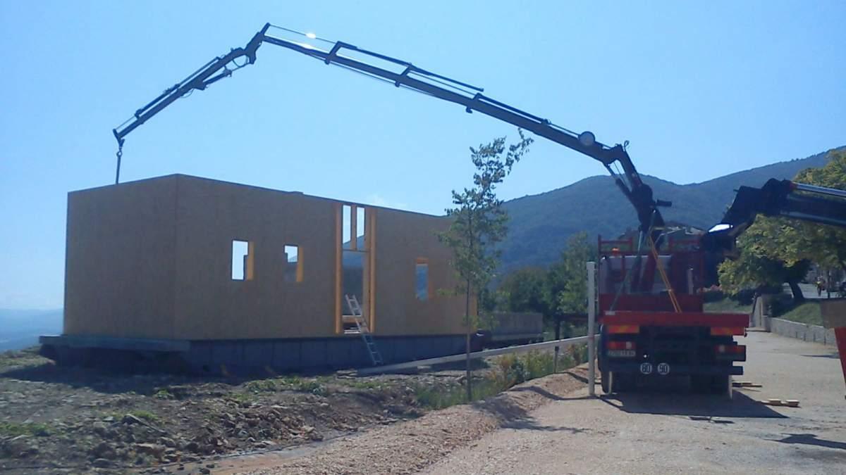 construction d 39 un atelier d 39 architecture et d 39 une maison bio climatique auribeau 84 en. Black Bedroom Furniture Sets. Home Design Ideas