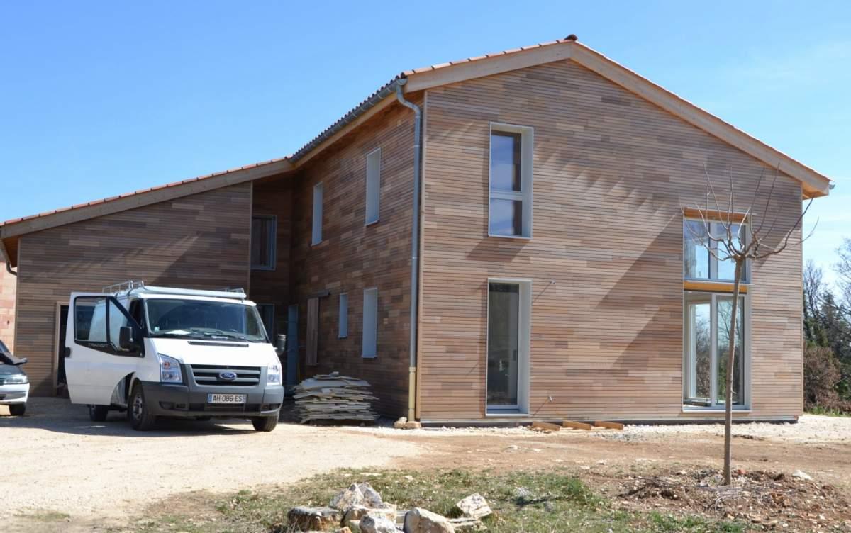 Fabricant de maison ossature bois bioclimatique for Fabricant maison bois