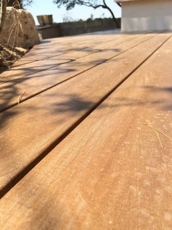 Réalisation dune terrasse en bois KEBONY Clear profil GRAD e