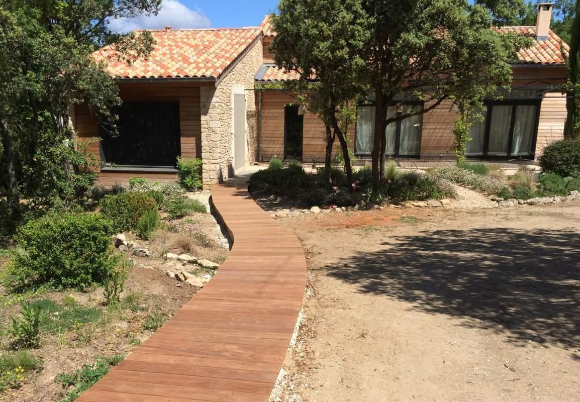 Maison d architecte en bois fabricant de maison surmesure for Architecte maison en bois