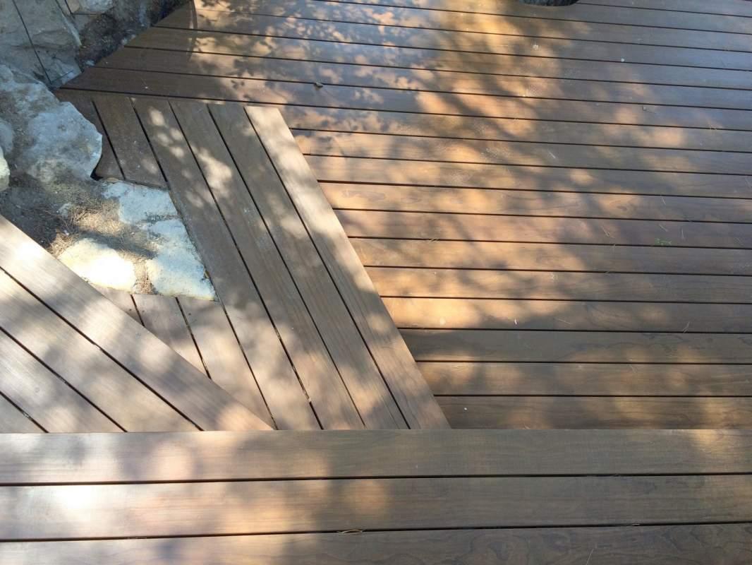 r alisation d 39 une terrasse en bois kebony clear profil grad en provence les taillades 84300. Black Bedroom Furniture Sets. Home Design Ideas