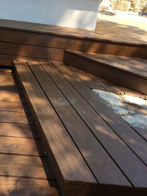 R alisation d 39 une terrasse en bois kebony clear profil for Agrandir terrasse bois