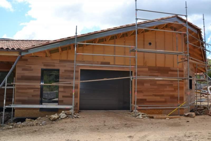 Fabricant de maison ossature bois passive sur mesure en luberon constructeur de maisons - Garage ossature bois sur mesure ...