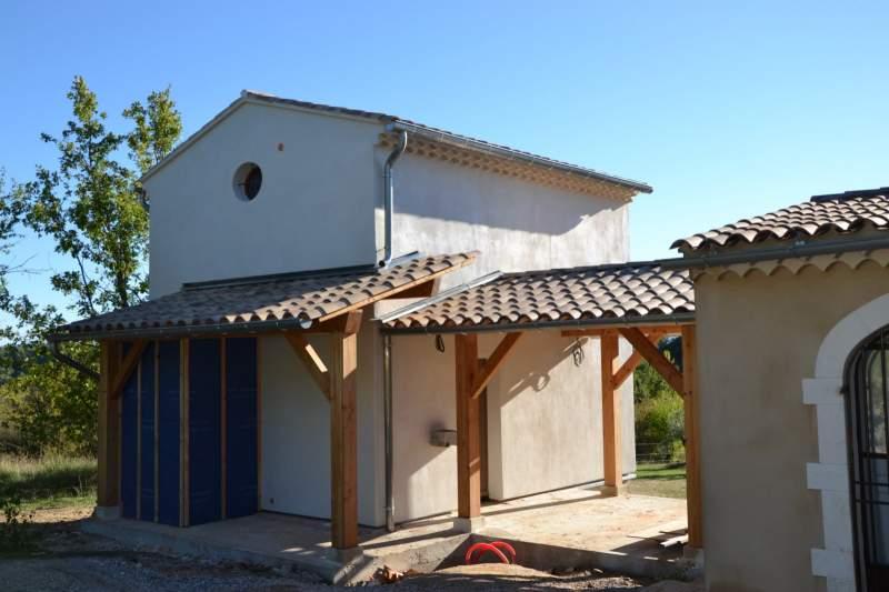 Agrandissement de maison en ossature bois saint saturnin for Agrandissement maison ossature bois