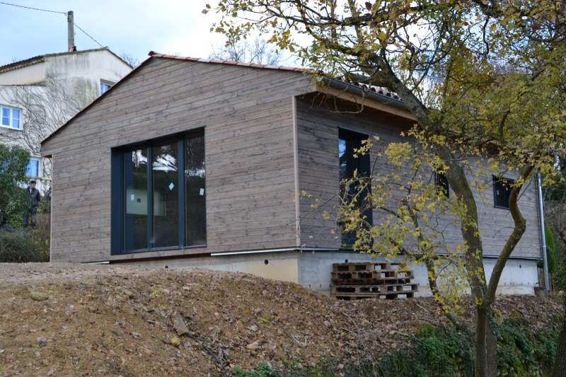 Artisan constructeur de maison ossature bois apt en for Constructeur maison vaucluse