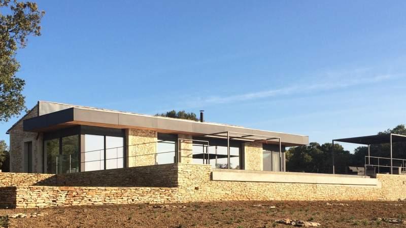 Construction de maison haut de gamme maubec 84 for Constructeur de maison haut de gamme