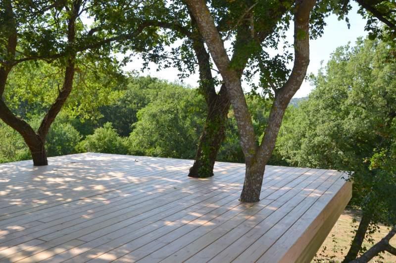 construction d 39 une terrasse bois en vaucluse 84. Black Bedroom Furniture Sets. Home Design Ideas